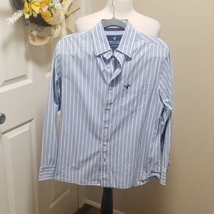 Men's American Eagle Button Down Shirt